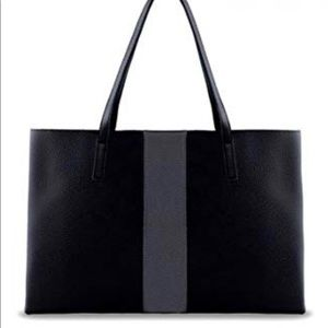 🆕 VINCE CAMUTO LUCK VEGAN PEBBLED LEATHER TOTE